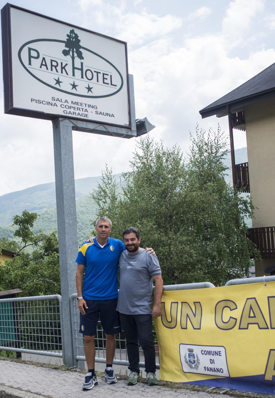HERNAN CRESPO AL PARK HOTEL FANANO