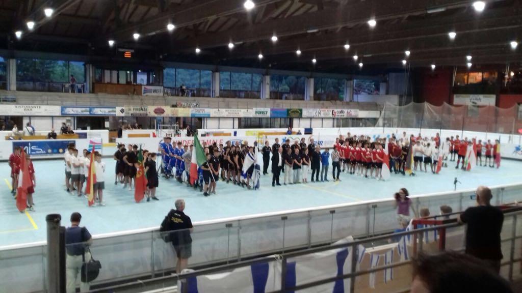 Inaugurazione campionati europei di hockey